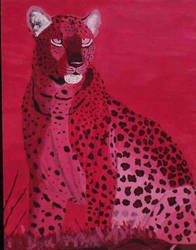 Acrylic Leopard