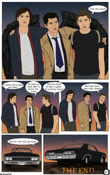 Page 40: SPN Twisted Games [END]