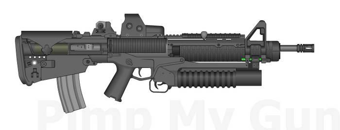 Bullpup M4