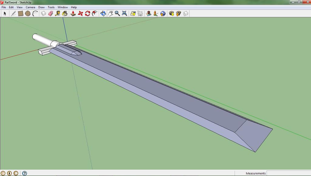 Rail Sword by DaVinciAirsoft