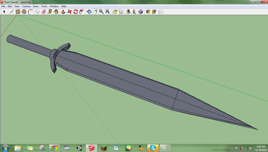 Short Sword 2 by DaVinciAirsoft