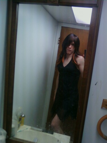 Crossdress Little Black Dress By Darthcronus On Deviantart