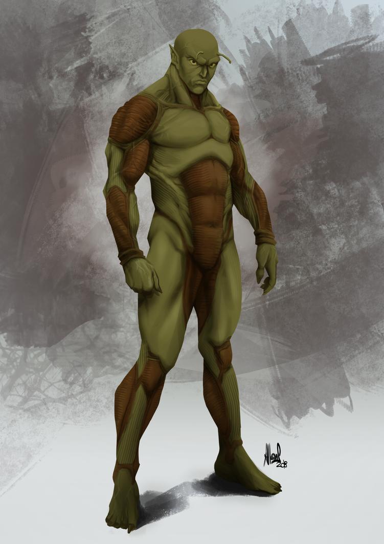 Piccolo's Anatomy by Allan-Santos