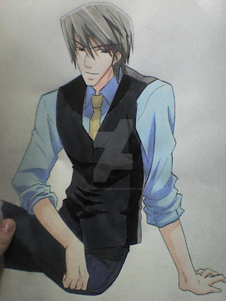 Usami Akihiko by victoriapieroni on DeviantArt