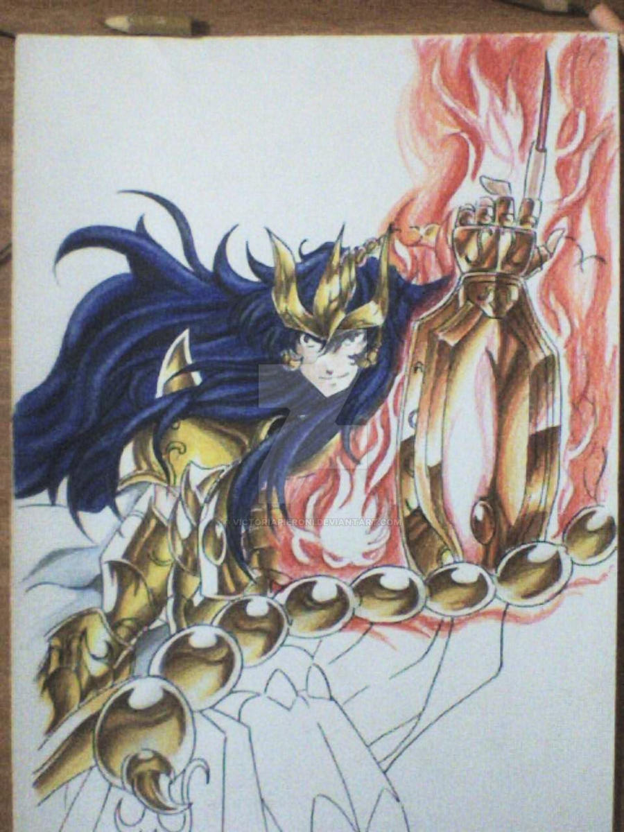 Making of Kardia gaiden volume cover pic II by victoriapieroni