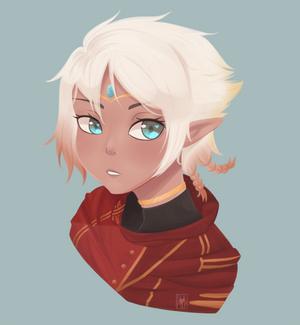 [EI] Painted Mal Bust