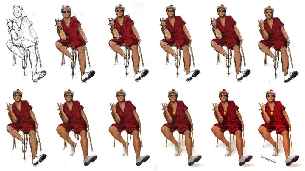 24k Magic Bruno Mars By Halfeyedprince On DeviantArt