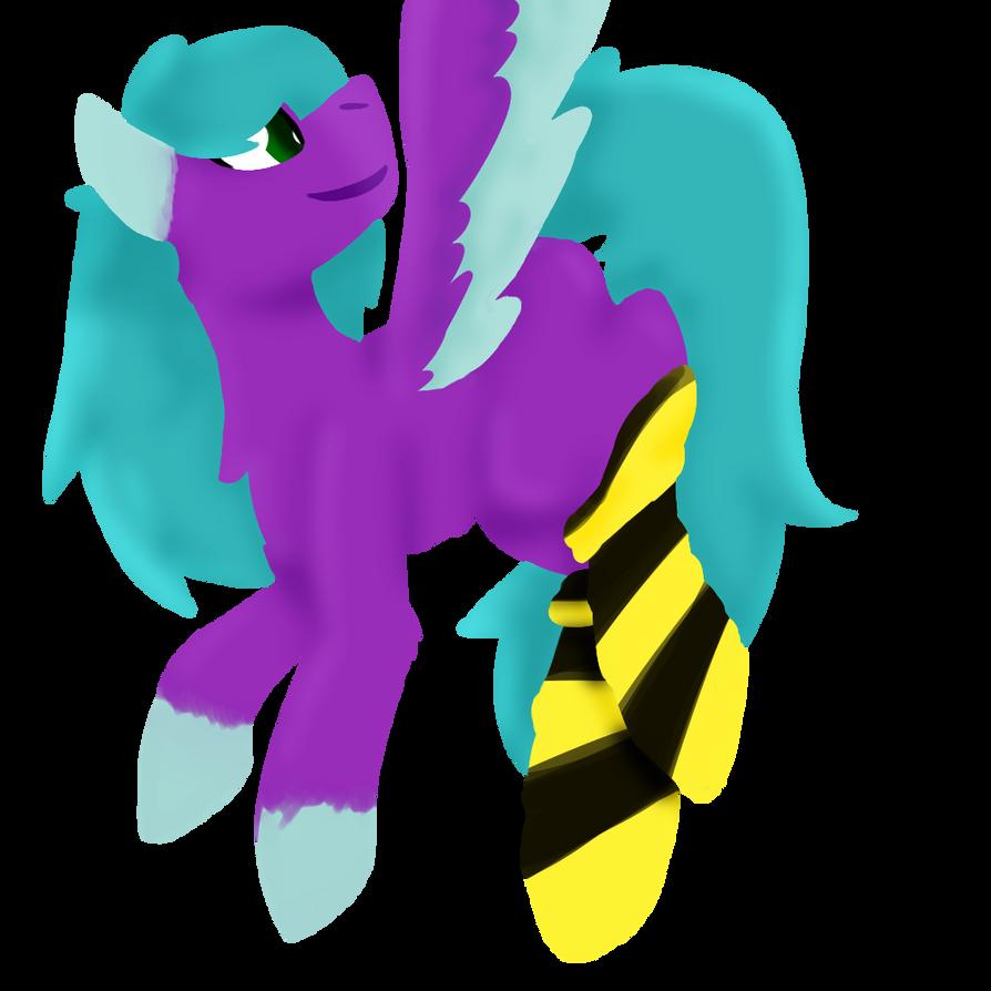 birb poni by dj-stridenasty