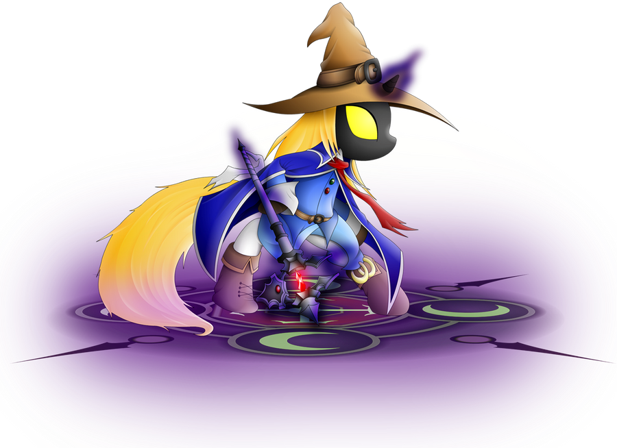 Black mage by XEROSEIS