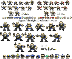 Heavy Man Sprites and Hats