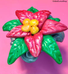 December Craft Along - Poinsettia