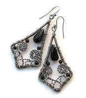 black filigree by annie-jewelry