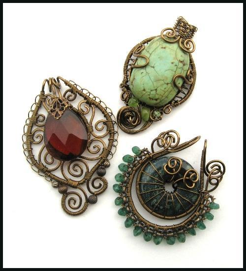 Vintaj Fastenables : Bead Inspirations!, Vintaj Brass, Bead Kits ...
