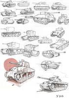 Tank Study by GoodOtaku