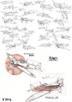 Plane Study by GoodOtaku