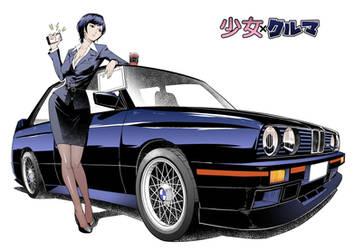 Shojo x Kuruma - BMW M3 E30