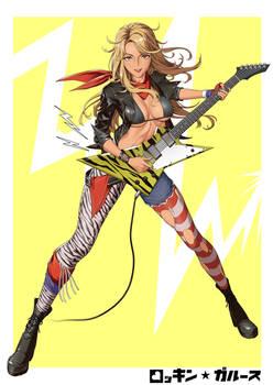 Rocking Girls - Rock girl
