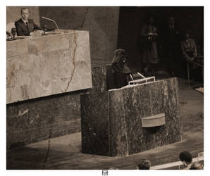 Darth Vader addresses the United Nations