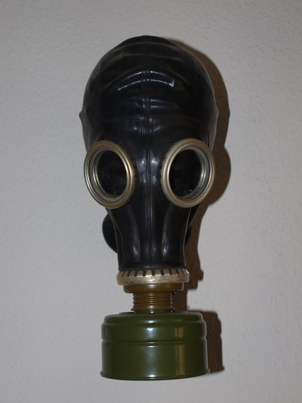 Gas Mask Stock 01 by PsykoHilly