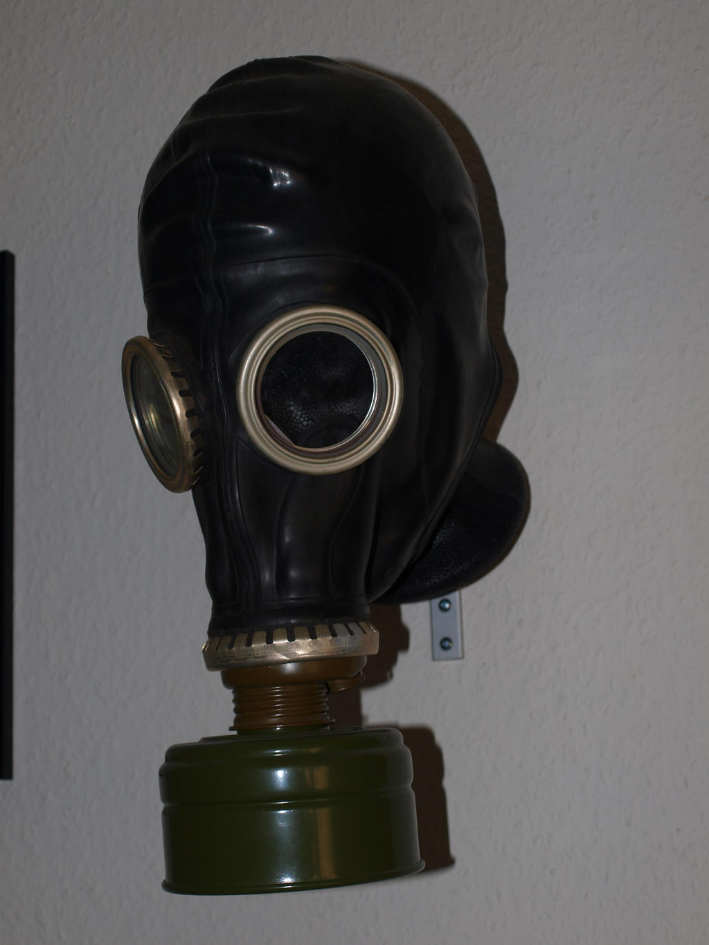 Gas Mask Stock 02 by PsykoHilly
