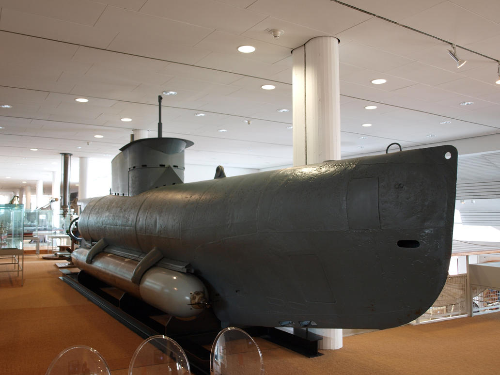 Midget Submarine 01 by PsykoHilly