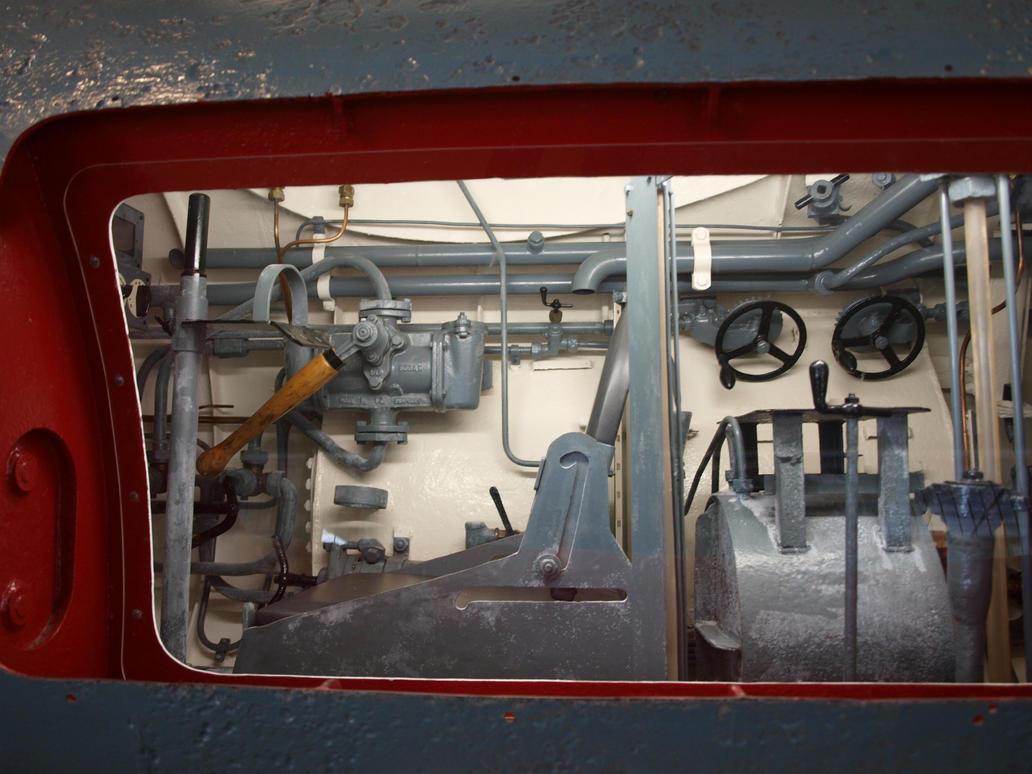 Midget Submarine 02 by PsykoHilly
