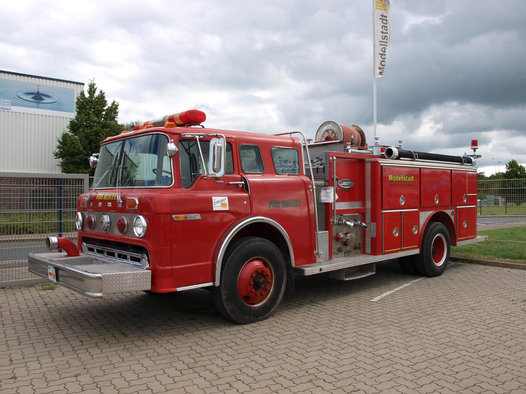 Fire Truck 01 by PsykoHilly