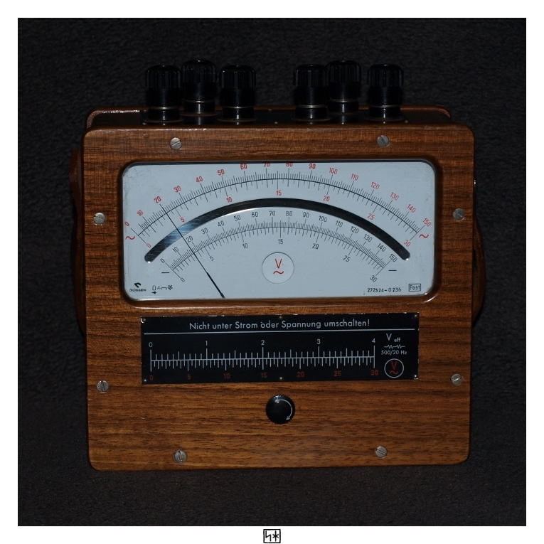 Voltmeter by PsykoHilly