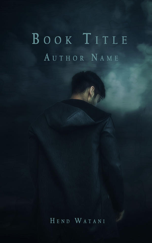 Book cover by Hend-Watani
