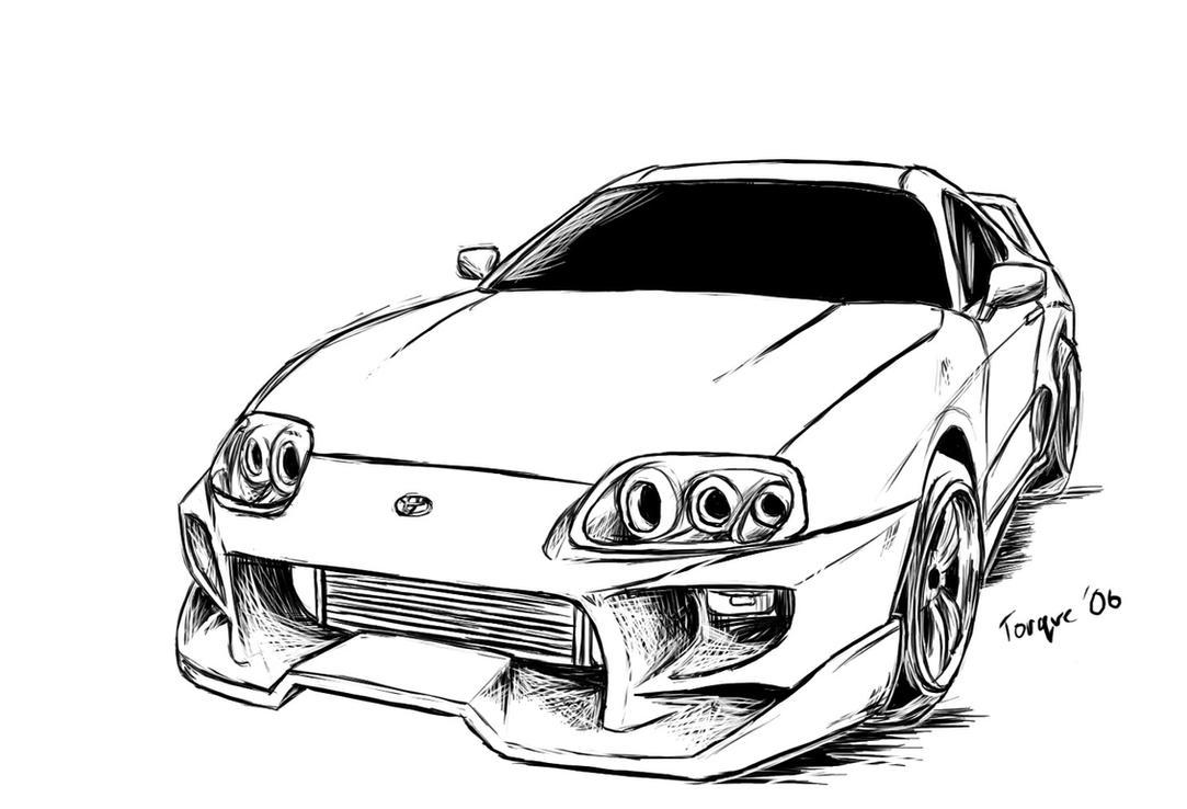 Torque Toyota Supra By Joelcomics