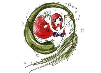 Ariel Mermaid by Wackelkontakt