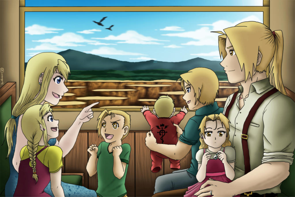 FMA- Trip to Milos by amburger91