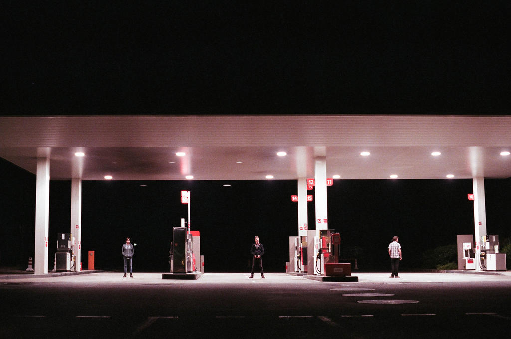 Gas Station by Andy-Floch