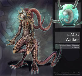 [Open] Auction : Monster Mutant [The Mist Walker] by Manese55