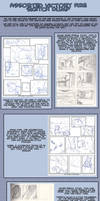 Victory Fire Process 2: Sketches and Drafts