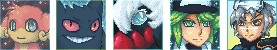 Pokemon Pixel Icons by sulfurbunny
