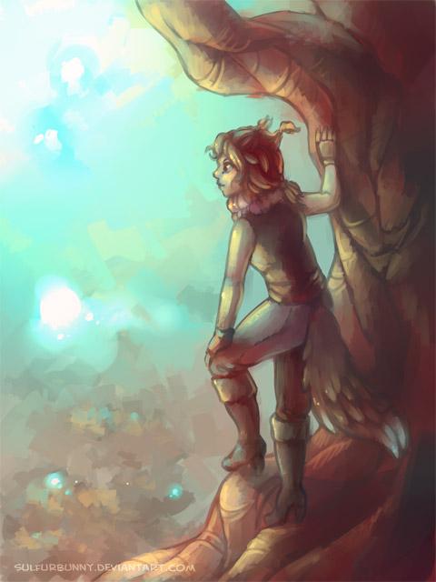 Wood Child by sulfurbunny