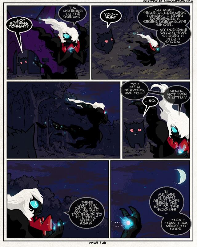 PMD: VF - 723: Under Moonlight by sulfurbunny