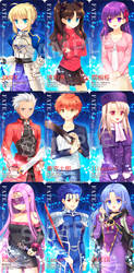 FATE Stay/Night by Trianon-dfc