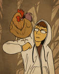 Kralie and the Chicken