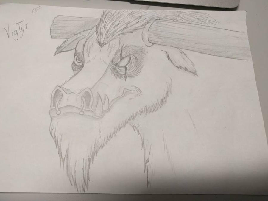 Vigtyr the Tauren by TheLootify