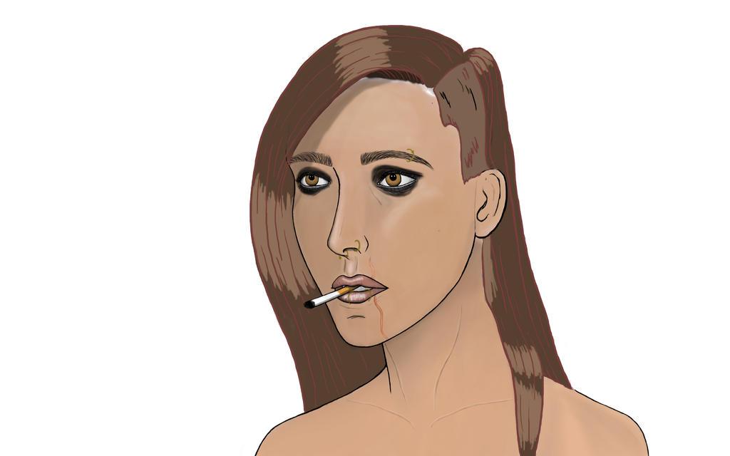 Jane Art In Progress! by TheLootify