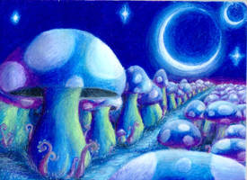 Magical Mushrooms by brainsatlunch