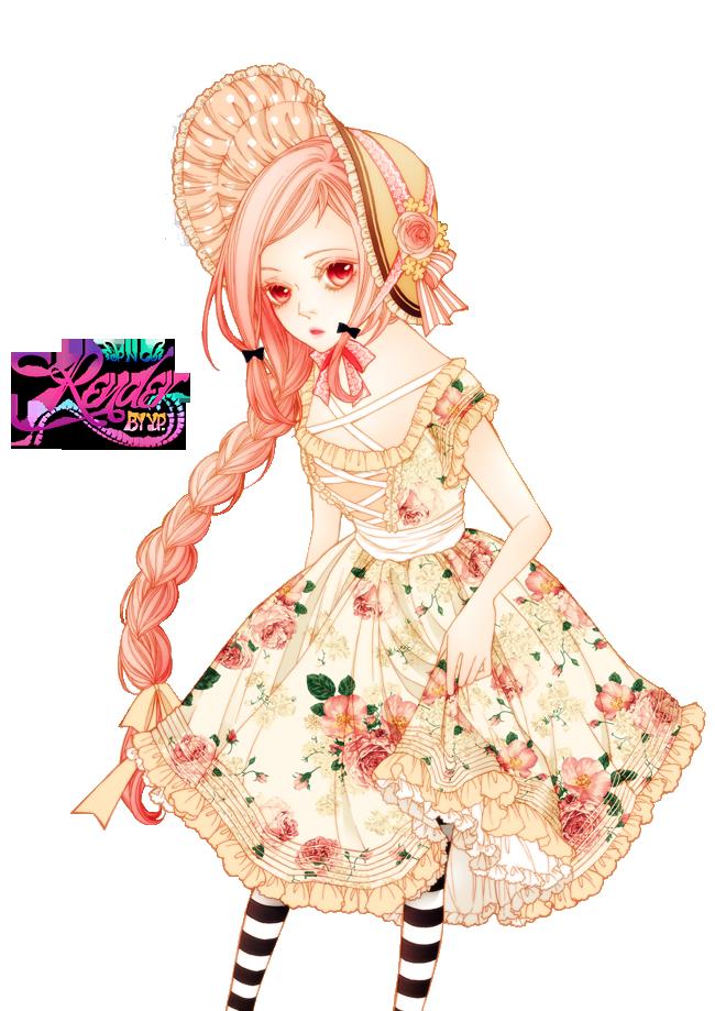 39 Renders Mangas fleuris  Blossom____render_by_xxxypdesignxxx-d8ffkh5