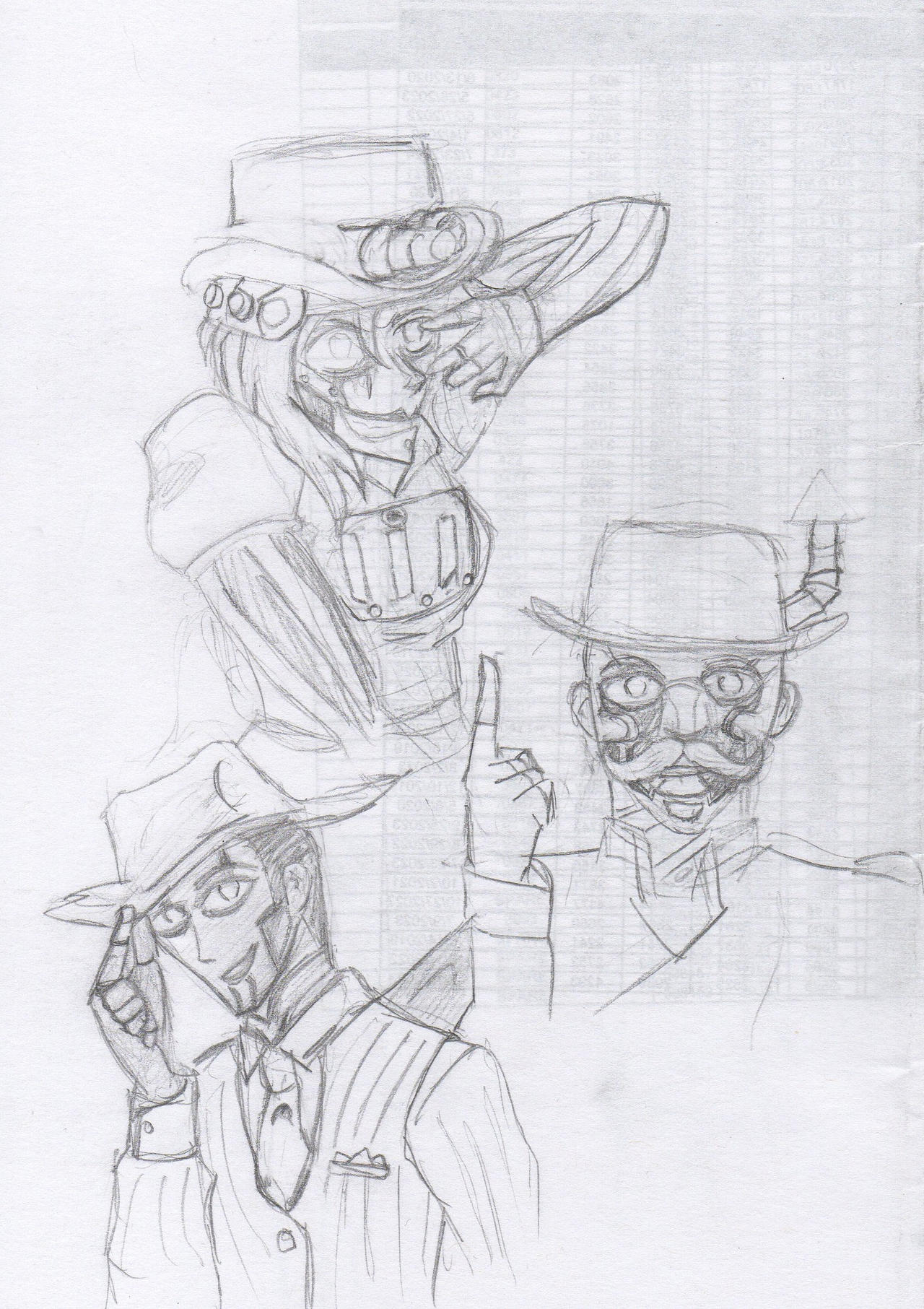 Steam Powered Giraffe by A-Fistful-Of-Kittens