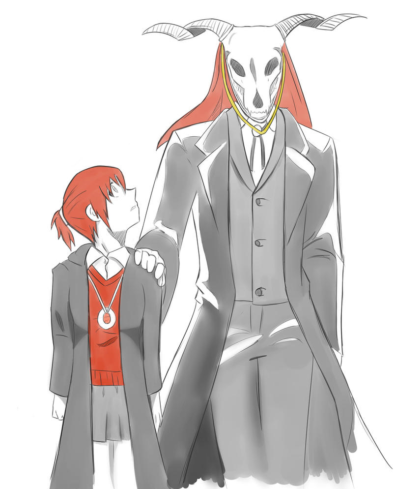 Chise + Elias by A-Fistful-Of-Kittens
