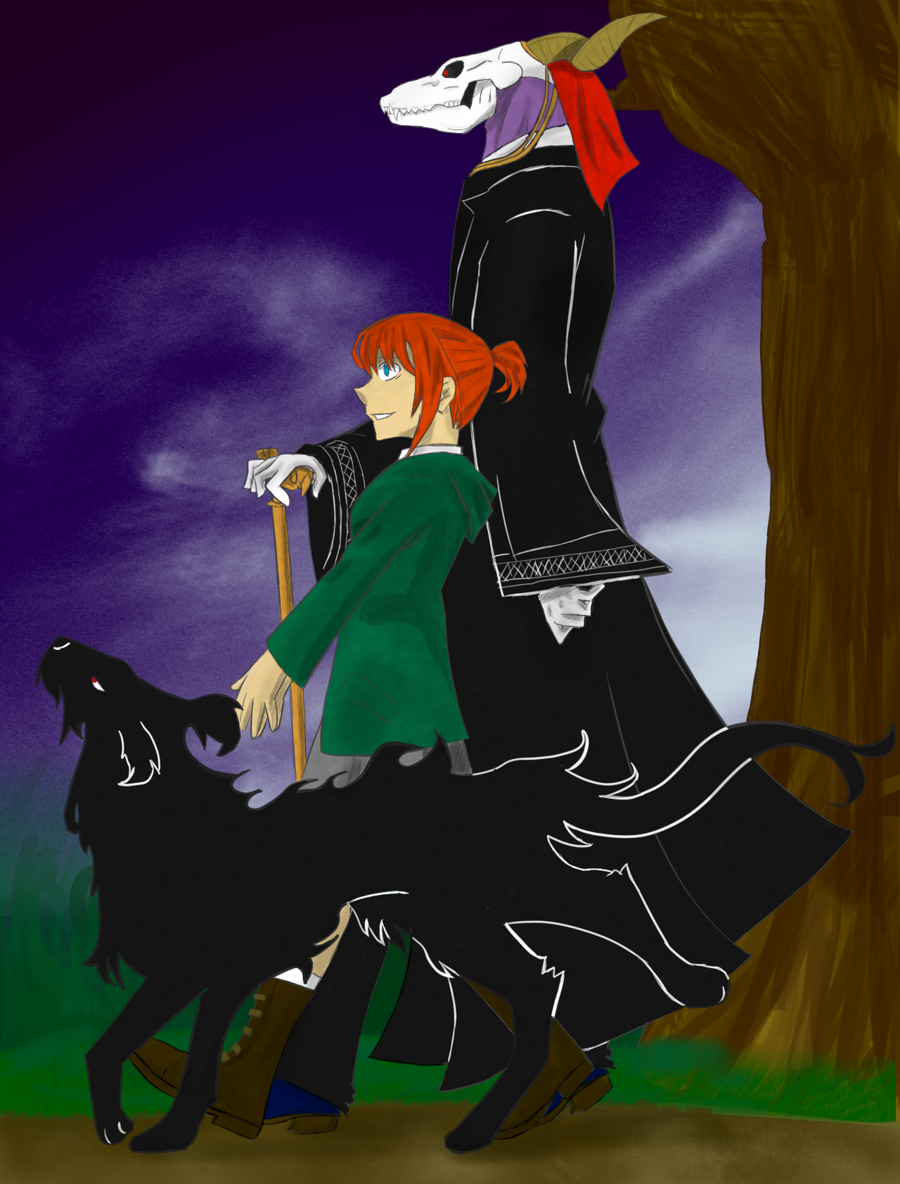 The Magus And His Bride by A-Fistful-Of-Kittens