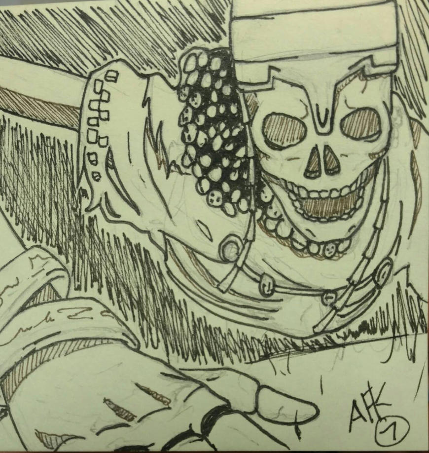 inktober 2016: High Lord Wolnir by A-Fistful-Of-Kittens