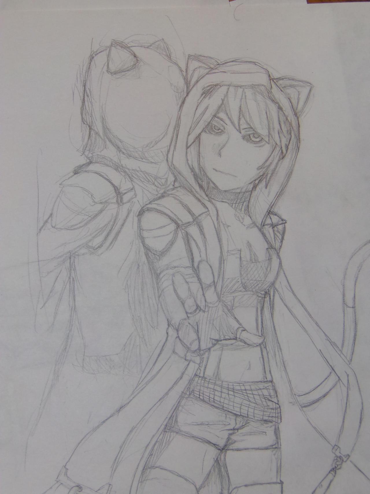 working -  Midori by A-Fistful-Of-Kittens