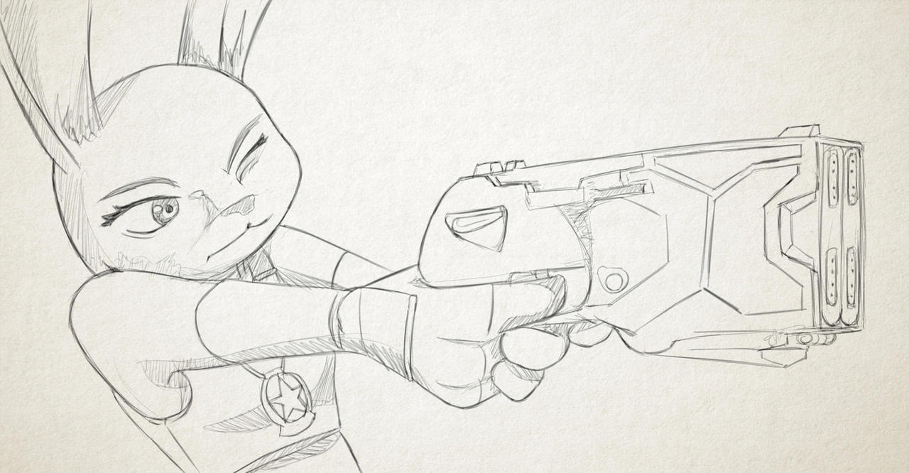 F:art Judy Hopps by A-Fistful-Of-Kittens
